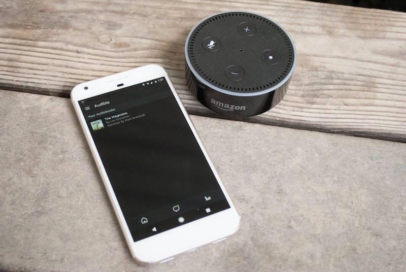 Como ouvir audiolivros com Alexa