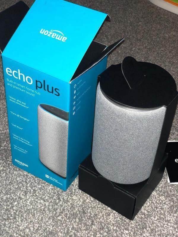 Como reiniciar o Echo Plus de segunda geração